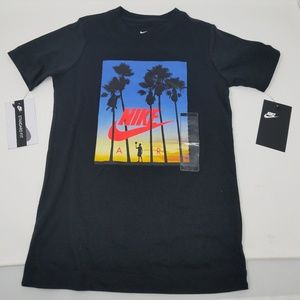 NIKE Air Jordan Boys Stay Cool Compression T-Shirt